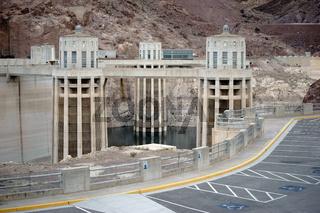 Wassereinlauftürme Hoover-Talsperre