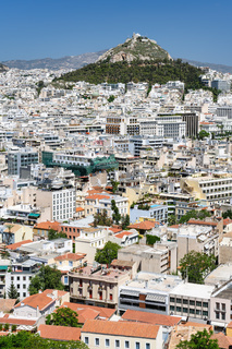 Cityscape of Athens, Greece