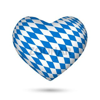 bavaria Oktoberfest heart