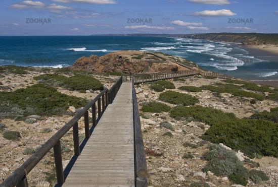 Praia Da Bordeira an der Algarve/Portugal
