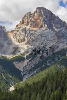 Croda Rossa, Dolomites.