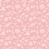 Sweet Pink Valentine Pattern