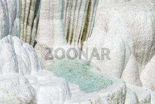 Salzhügel in Egerszalok Ungarn Europa