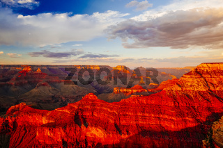 Mather Point, View Point, Grand Canyon National Park, Arizona, USA