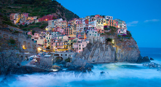 Manarola fisherman village in Cinque Terre, Italy