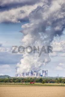 Emissions coal power plant