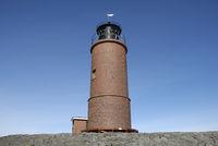 Leuchtturm auf der Hallig Langeness