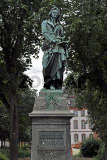 Schiller-Denkmal in Mainz