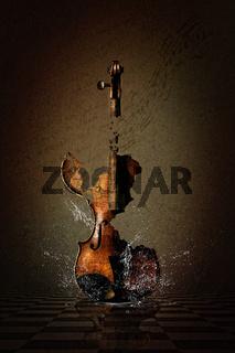 Shattered Violin