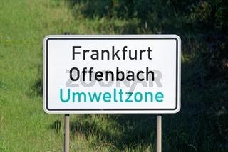 Frankfurt Umweltzone
