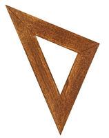 vintage triangle ruler