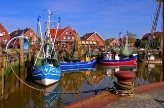 Neuharlingersiel Hafen - Neuharlingersiel harbour 01