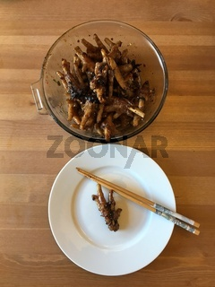 Würzige Chinesische Hühnerfüße