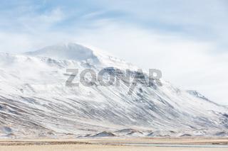 Iceland Winter landscape