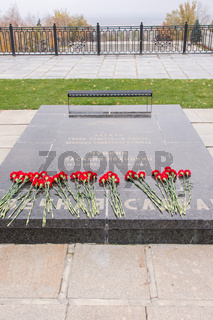 Tomb Vasily Chuikov, an area of grief historical memorial complex - To Heroes of the Battle of Stalingrad