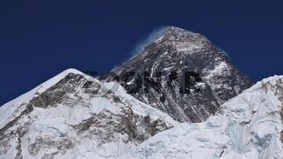 Mt Everest in spring time