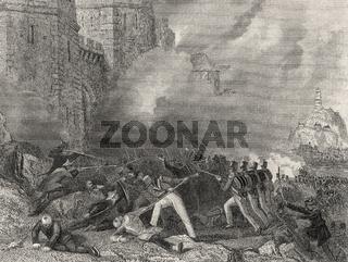 Battle of Chinkiang, 1842, First Opium War