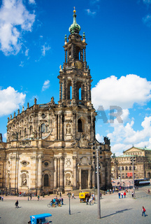 Church Frauenkirche area