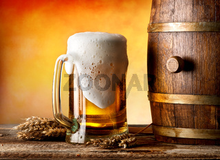 Beer witn wheat
