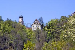 Schloss Heiligenberg mit Glockenturm