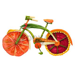 Veggie bike.