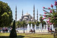 Turkey, Istambul, Blue Mosque