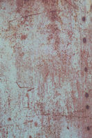 old grunge rusty zinc wall