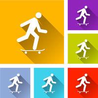 skateboard icons