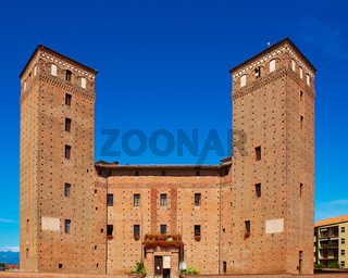 Fossano medieval castle