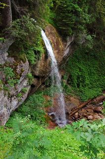 Wasserfall auf dem Weg zum Hochgrat - Naturpark Nagelfluhkette