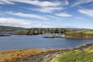 Küstenlandschaft am Loch Dunvegan