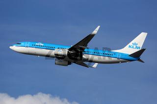 KLM Royal Dutch Airlines Boeing 737-800 Flugzeug