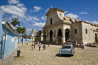 Trinidad Kuba - Zentrum mit Kirche