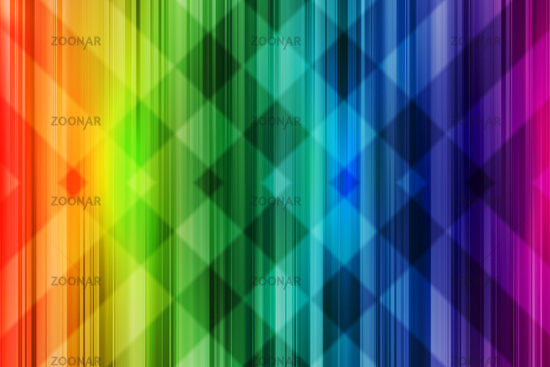 Rainbow background. Bright colorful design with intersect pattern light.