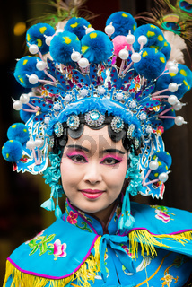 Sichuan Opera actress