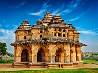 Lotus Mahal pavilion