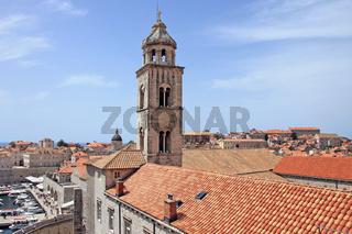Dubrovnik, Dominikansiches Klsoter und Hafen Altstadt