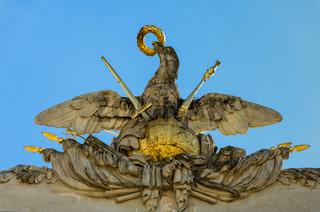 Detail der Gloriette (Schloss Schönbrunn) in Wien