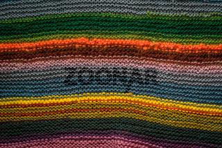 Creative knitwear background