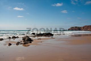 Die wilde Küste der Algarve/Portugal