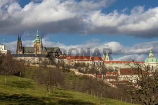 Blick vom Laurenziberg zur Prager Burg