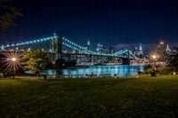 Brooklyn Bridge and Manhattan, New York