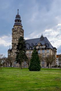 Ostansicht des Wittenberger Rathauses am Elmshorner Platz