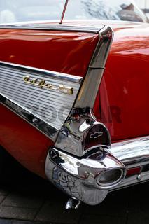 Detailansicht von einem Chevrolet Bel-Air