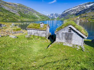 Norwegian huts