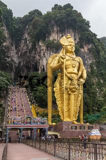 Entrance to Batu Caves complex, Malaysia