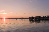 Sonnenuntergang am Bodensee ### Sunset at Lake Constance Sonnenuntergang am Bodensee ### Sunset at Lake Constance