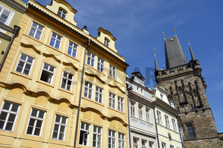 Kleinseitner Turm der Karlsbruecke in Prag