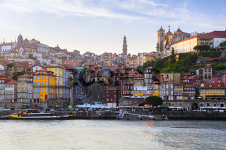 Douro river in Porto