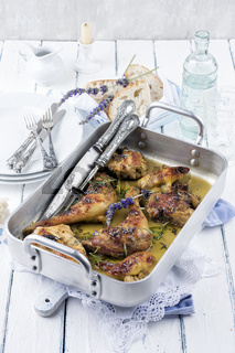 french lavender chicken